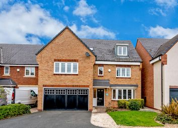 Thumbnail 6 bed detached house for sale in The Hollies, Cheslyn Hay, Walsall