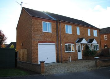 Thumbnail 3 bed semi-detached house to rent in Hipkin Road, Dersingham, King's Lynn