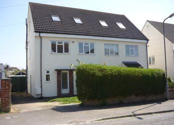 Thumbnail 4 bed semi-detached house for sale in Keppel Avenue, Haversham, Milton Keynes, Buckinghamshire