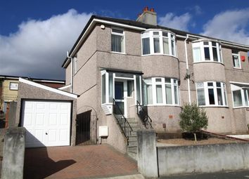 Thumbnail 3 bedroom semi-detached house for sale in Channel Park Avenue, Plymouth