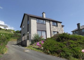 Thumbnail 4 bed detached house for sale in Portmadoc Road, Criccieth, Gwynedd