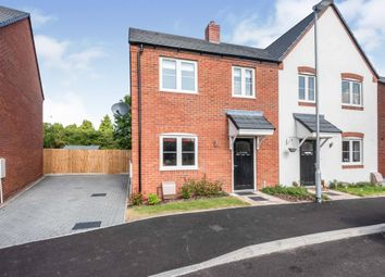 Thumbnail 3 bed semi-detached house for sale in The Furlong, Powick, Worcester