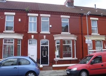 Thumbnail 3 bedroom terraced house for sale in Kempton Road, Wavertree, Liverpool