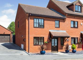 Thumbnail 3 bed end terrace house for sale in Minorca Grove, Shenley Brook End, Milton Keynes