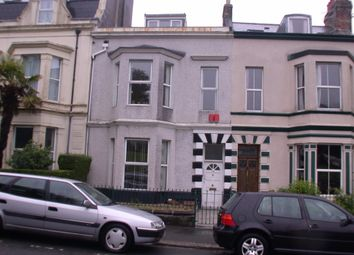 Thumbnail 3 bed maisonette to rent in Lipson Road, Lipson, Plymouth