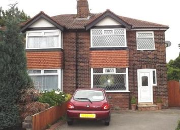 Thumbnail 3 bed semi-detached house for sale in Berwyn Avenue, Cheadle Hulme, Cheadle, Cheshire