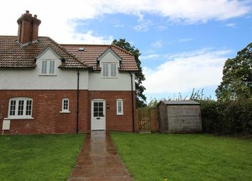 Thumbnail 3 bed semi-detached house to rent in Great Oak, Raglan, Usk