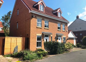 Thumbnail 3 bed semi-detached house to rent in Trevorrow Crescent, Chesterfield