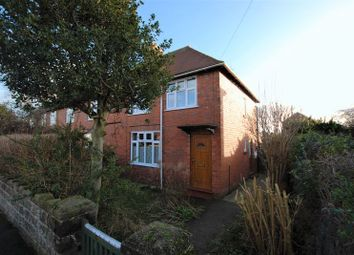 Thumbnail 4 bed end terrace house for sale in Johnson Road, Uttoxeter
