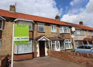 Thumbnail 3 bed terraced house to rent in Berkeley Road, Hillingdon