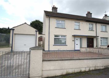 Thumbnail 3 bed terraced house for sale in Croob Park, Ballynahinch, Down