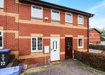 Thumbnail 2 bed town house for sale in Springfield Court, Leek, Staffordshire