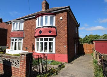 Thumbnail 2 bed semi-detached house for sale in Studley Road, Stockton-On-Tees