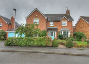 Thumbnail 4 bed detached house for sale in Castlerigg Close, West Bridgford, Nottingham