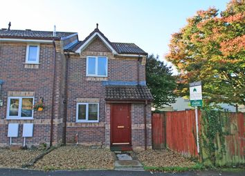 Thumbnail 2 bedroom end terrace house for sale in Robins Way, Plymstock, Plymouth, Devon