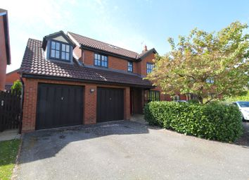 Thumbnail 4 bed detached house for sale in Welsummer Grove, Shenley Brook End