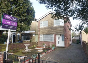 Thumbnail 3 bed detached house for sale in Obelisk Road, Woolston, Southampton