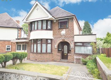 Thumbnail 3 bed detached house for sale in Edenbridge Road, Hall Green, Birmingham