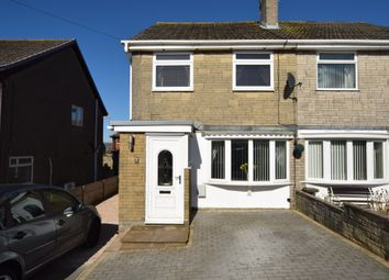 Thumbnail 3 bed semi-detached house for sale in Langdale Crescent, Dalton-In-Furness, Cumbria