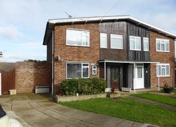 Thumbnail 3 bed semi-detached house for sale in Benfleet, Essex, .