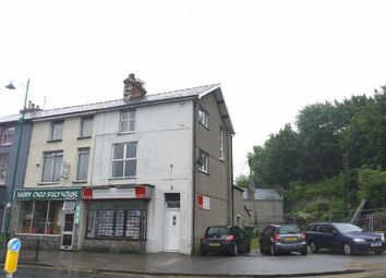 Thumbnail 3 bed maisonette to rent in High Street, Porthmadog