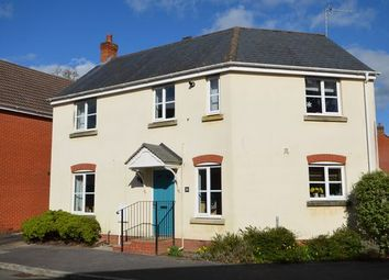 Thumbnail 3 bed detached house for sale in Redvers Way, Tiverton
