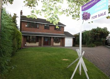 Thumbnail 4 bedroom detached house for sale in Cousin Fields, Bromley Cross, Bolton