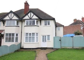 Thumbnail 4 bedroom semi-detached house for sale in Hardwick Road, Solihull, West Midlands