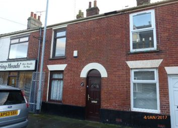 Thumbnail 3 bedroom terraced house to rent in Lancaster Road, Great Yarmouth
