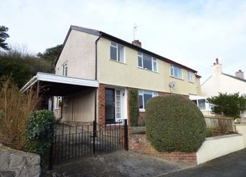 Thumbnail 3 bed semi-detached house for sale in Ty Gwyn Gardens, Conwy, North Wales