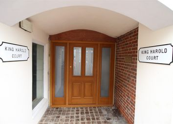 Thumbnail 1 bed flat for sale in King Harold Court, Sun Street, Waltham Abbey, Essex