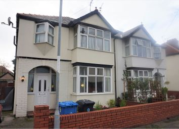 Thumbnail 3 bed semi-detached house to rent in Barry Road South, Rhyl