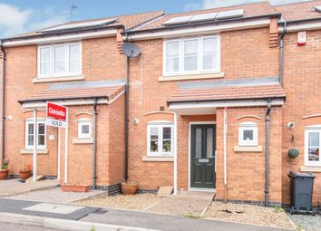 Thumbnail 2 bed town house for sale in Gifford Close, Birstall, Leicester