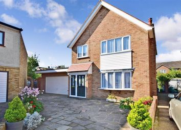 Thumbnail 3 bed detached house for sale in Ongar Close, Romford, Essex