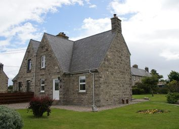 Thumbnail 2 bed semi-detached house for sale in Manse Park, Brora, Highland