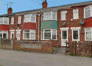 Thumbnail 2 bedroom terraced house for sale in Brendon Avenue, Hull
