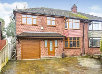 Thumbnail 4 bed semi-detached house for sale in Urwick Road, Romiley, Stockport, Greater Manchester