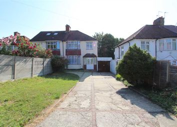 Thumbnail 3 bed semi-detached house to rent in Elms Lane, Wembley