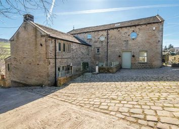 Thumbnail 3 bed barn conversion for sale in Stubbin Farm Barn, Stubbin Lane, Hinchliffe Mill