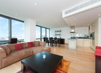 Thumbnail 1 bed flat to rent in No. 1 West India Quay, Hertsmere Road, Canary Wharf