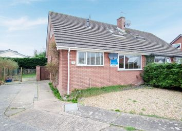 Thumbnail 3 bed semi-detached bungalow for sale in Cae Gweithdy, Menai Bridge, Anglesey