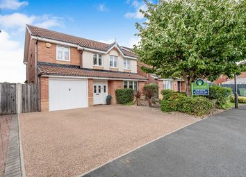 Thumbnail 4 bed detached house for sale in Peel Hall Avenue, Tyldesley, Manchester