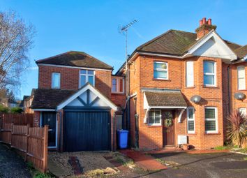 Thumbnail 2 bed semi-detached house for sale in Elston Road, Aldershot