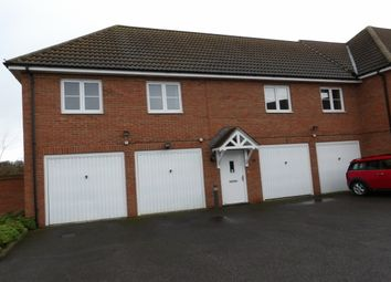 Thumbnail 2 bed flat to rent in Conqueror Drive, Gillingham, Kent