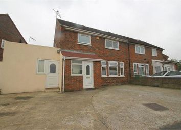 Thumbnail 4 bedroom semi-detached house to rent in Blandford Road South, Langley, Slough
