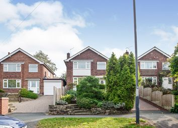 Thumbnail 3 bed detached house for sale in Oakover Drive, Allestree, Derby, Derbyshire