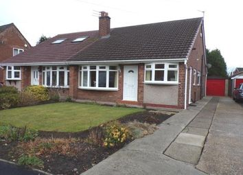 Thumbnail 2 bed bungalow for sale in Warwick Drive, Hazel Grove, Stockport, Cheshire