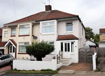 Thumbnail 3 bed semi-detached house for sale in Stonebridge Park, Eastville