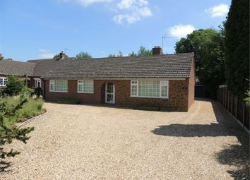 Thumbnail 3 bed detached bungalow for sale in Church Road, West Dereham, King's Lynn