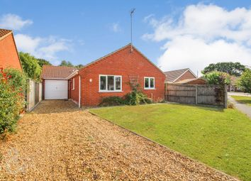 Thumbnail 3 bed detached bungalow for sale in Heron Way, Hickling, Norwich